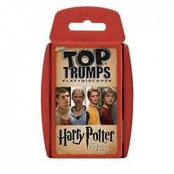 Juego de cartas Top Trumps El cáliz de fuego, Harry Potter