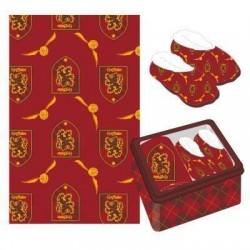 Set manta + zapatillas Gryffindor, Harry Potter