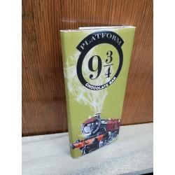 "Tableta chocolate ""Plataform 9 3/4"""", con billete, Harry Potter"""