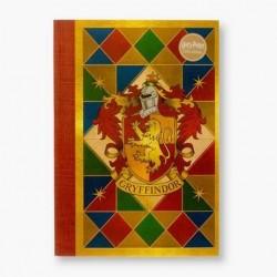 Libreta Gryffindor borde dorado, Harry Potter