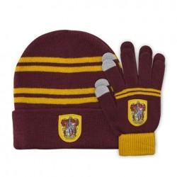 Set guantes + gorro Gryffindor infantil, Harry Potter