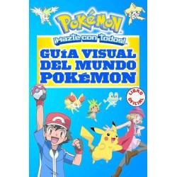 Libro Guía visual del mundo Pokémon