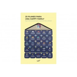 "Postal ""25 PLANES HAPPY FAMILY"""""""