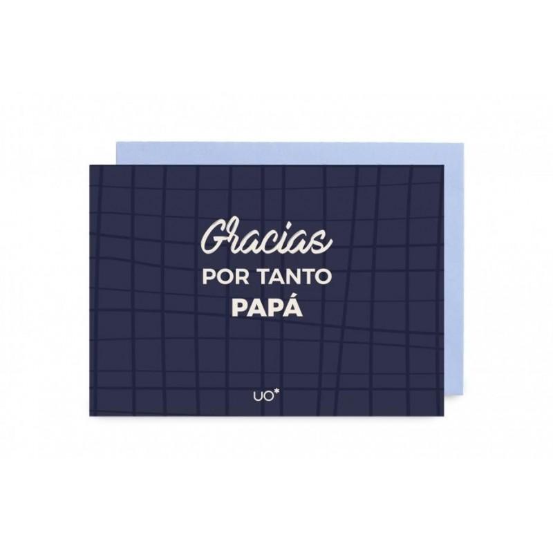 "Postal ""GRACIAS POR TANTO, PAPÁ"""""""