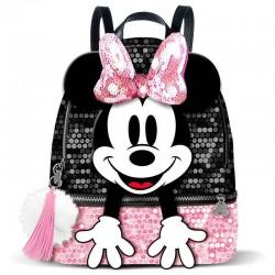 Mochila Minnie lentejuelas rosa, Disney