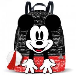 Mochila Mickey lentejuelas rojas, Disney