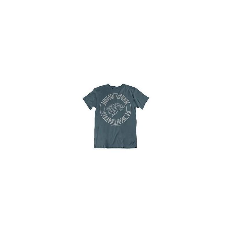 Camiseta House Stark of Winterfell, unise, Juego de Tronos