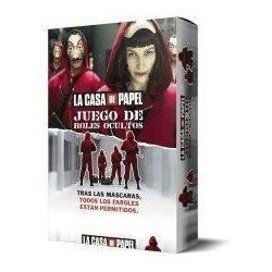 """Juego roles ocultos de """"La Casa de Papel"""""""""""""""