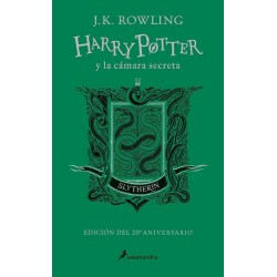 Libro Slytherin Harry Potter y la cámara secreta. Ed. 20 aniversario