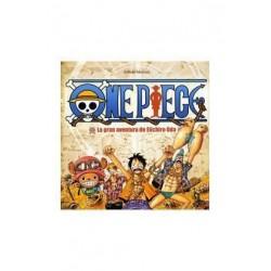 Libro La gran aventura de Eiichiro Oda, One Piece