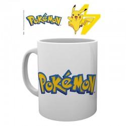 Taza logo Pokémon y Pikachu, Pokémon