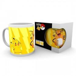 Taza Pikachu evolución, Pokémon