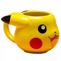 Taza 3D Pikachu, Pokemon