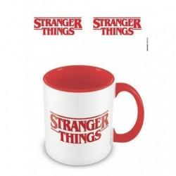 Taza color interno y logo, Stranger Things