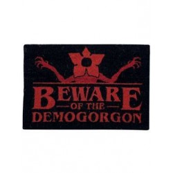 Felpudo Beware of the Demogorgon, Stranger Things