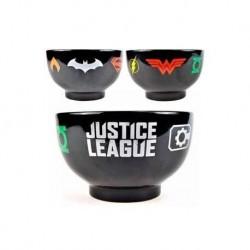 Bowl DC Cómics logos, Liga de la Justicia