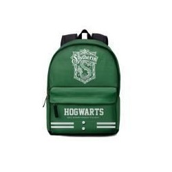 Mochila Slytherin verde, tamaño cole, Harry Potter