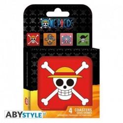 Set Posavasos One Piece
