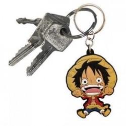 Llavero Luffy PVC, One Piece