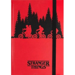 Libreta Stranger Things premium