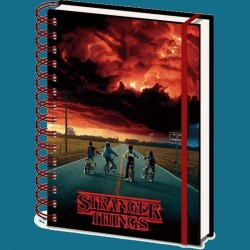 Libreta Azotamentes, Stranger Things