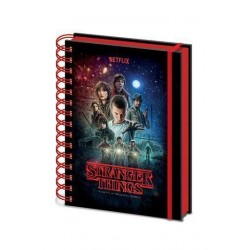 Libreta anillas, Stranger Things