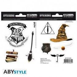 Pegatinas del mundo mágico, Harry Potter