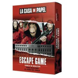 Juego Escape Game, La casa de Papel