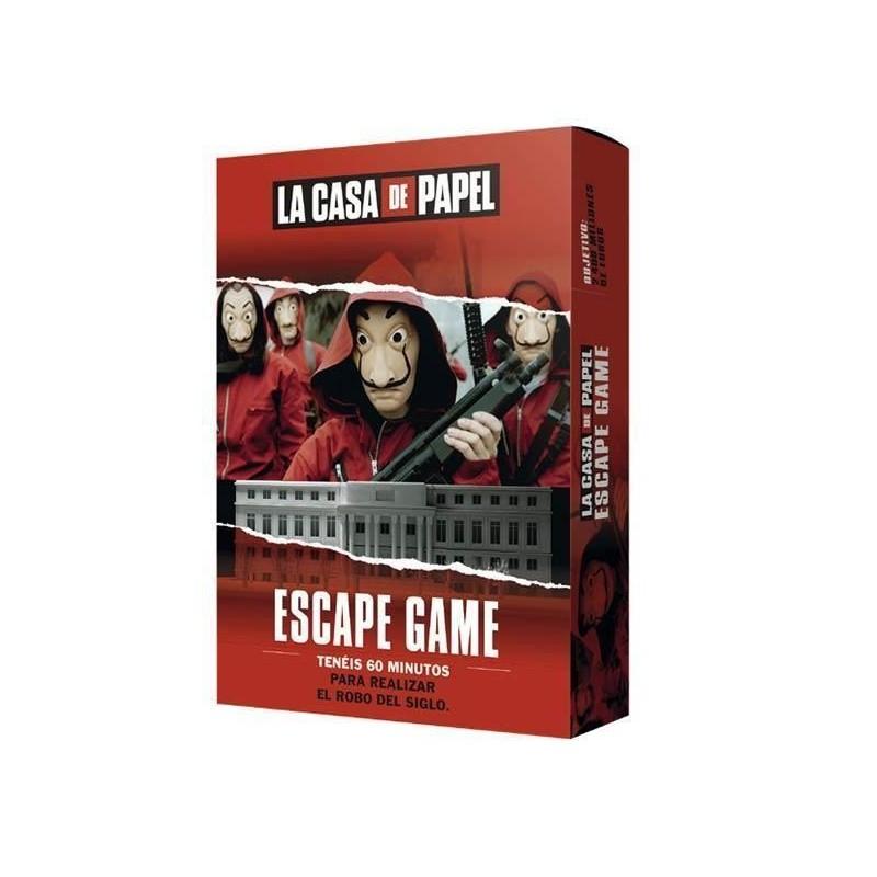 Juego Escape Game, La casa de Papel