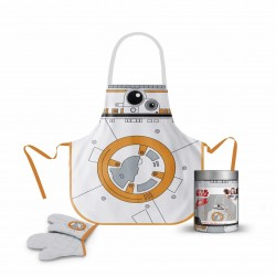 Delantal y manopla BB-8, tarro cristal, Star Wars