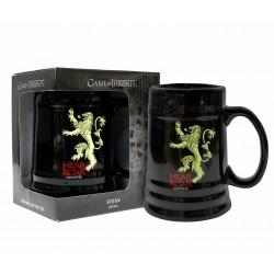 Jarra Lannister cerámica negra, Juego de Tronos