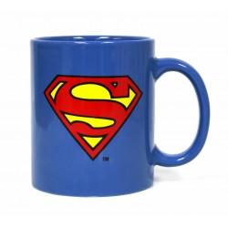 Taza logo Superman, fondo azul