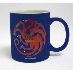 Taza Targaryen azul y roja, Juego de Tronos