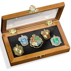Caja Pins de las casas de Hogwarts, Harry Potter