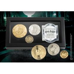 Monedas de Gringotts, Harry Potter