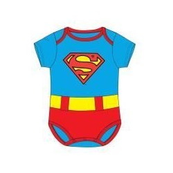 Body bebé Superman verano