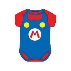 Body bebé Mario verano