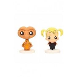 Set mini figuras E.T y Gertie con planta, E.T el Extraterrestre