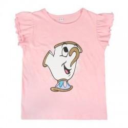 Camiseta Chip manga corta infantil, Bella y Bestia
