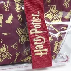 Bolso transparente Gryffindor asas + neceser, Harry Potter