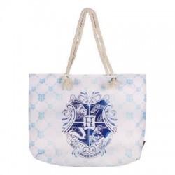Bolso de playa Hogwarts azul, Harry Potter