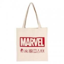 Bolsa Marvel algodón natural, Marvel
