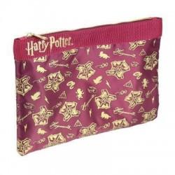 Mochila Hogwarts transparente + neceser, Harry Potter