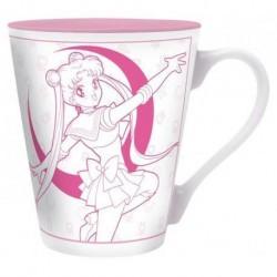 Taza Serena blanco y rosa, Sailor Moon