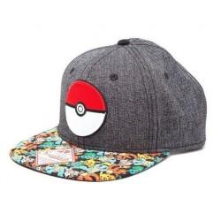 Gorra béisbol Pokeball, Pokémon