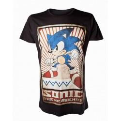 Camiseta Sonic retro