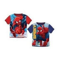Camiseta azul Spiderman infantil