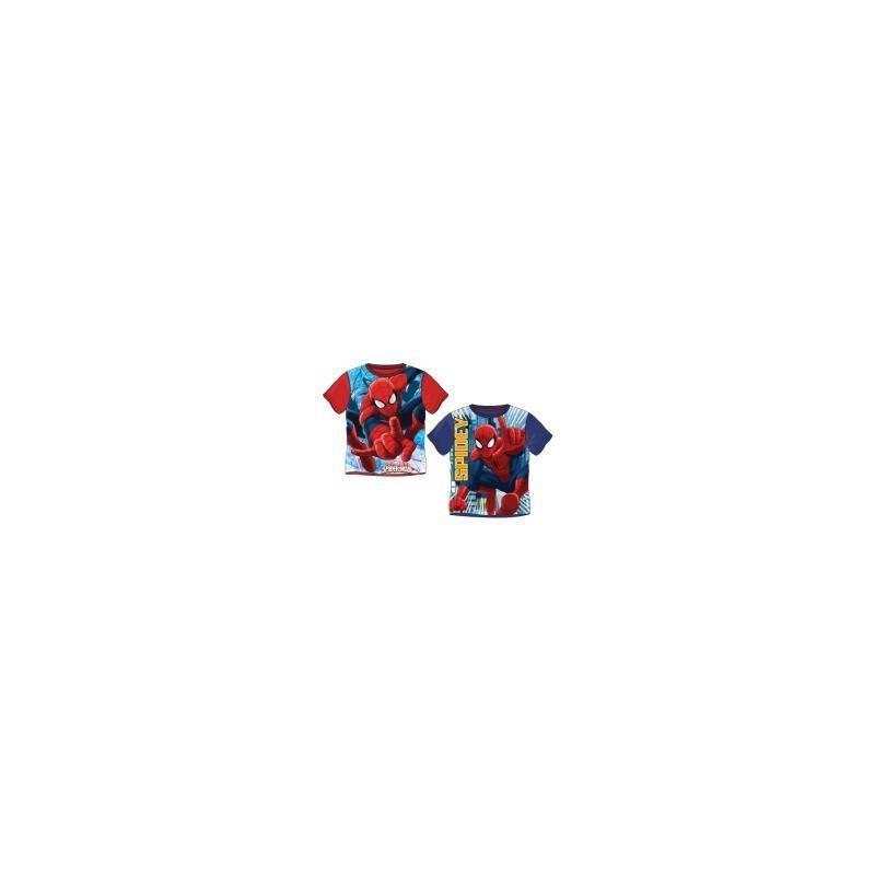 Camiseta azul Spiderman infantil