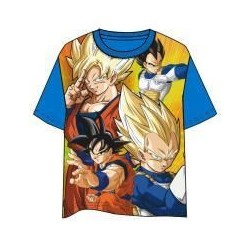 Camiseta Goku y Vegeta infantil, Dragon Ball