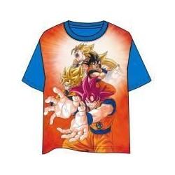 Camiseta infantil Goku, Dragon Ball